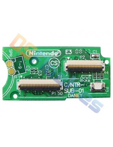Imagen superior Placa Conexión Pantallas Nintendo DS