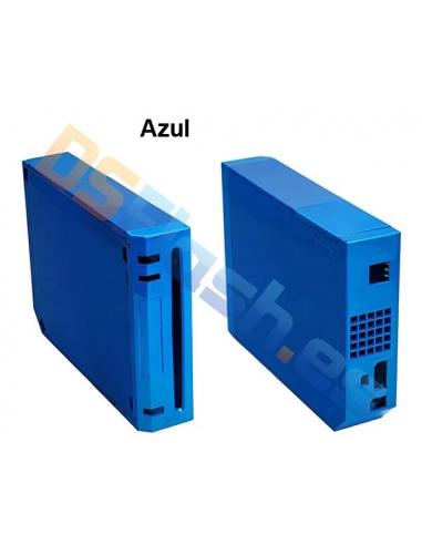 Imagen carcasa Wii Repuesto azul