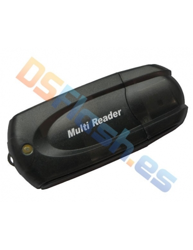 Lector Multitarjeta vía USB