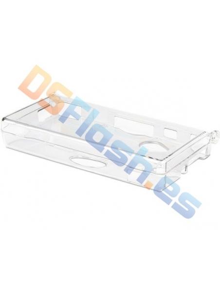 Carcasa protección transparente Nintendo DSi XL
