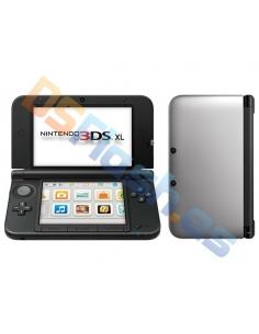 Consola Nintendo 3DS XL Plateada + Cargador de Corriente