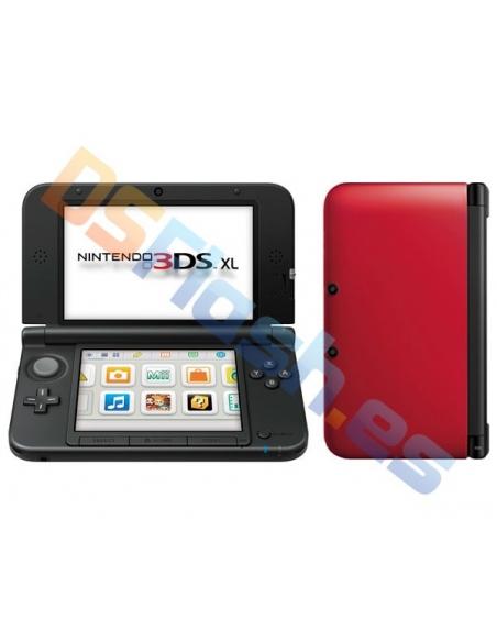 Consola Nintendo 3DS XL Roja + Cargador de Corriente