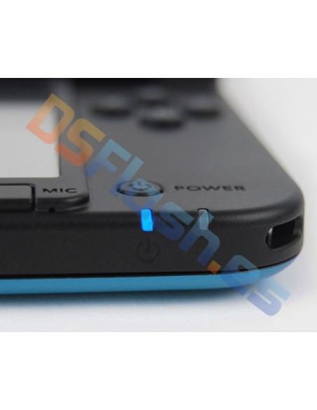 Imagen frontal Consola Nintendo 3DS XL Azul