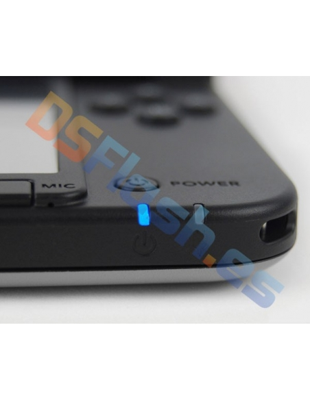 Imagen frontal Consola Nintendo 3DS XL Plateada