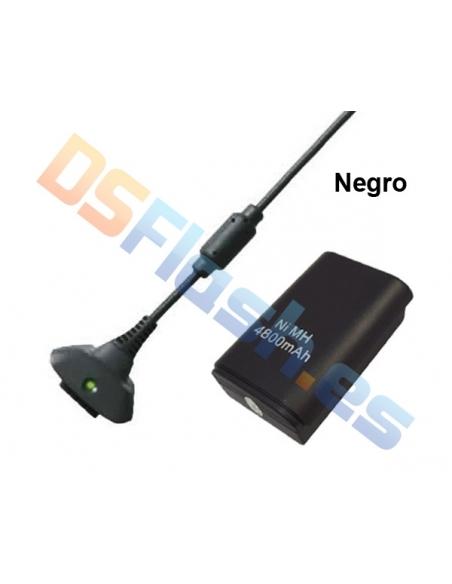 """Batería Xbox 360 + cargador """"Carga y Juega"""""""