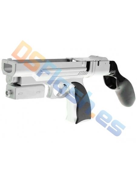Pistola Wii Combinada Metalizada