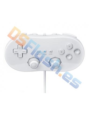Imagen Mando Clásico Wii Compatible Blanco