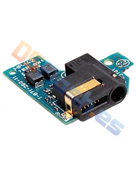 Placa conector auriculares PSP 2000