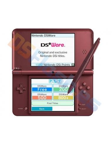 Consola Nintendo DSi XL Rojo Cereza