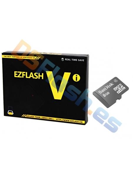 EZ Flash Vi - 4GB, 8GB, 16GB o 32GB