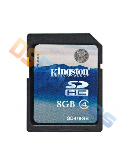 Tarjeta memoria SDHC 8 GB