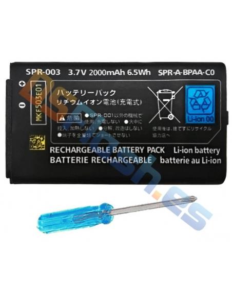 Batería Nintendo 3DS XL recargable + destornillador