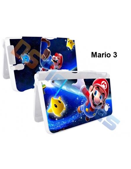 Carcasa protección Nintendo DSi XL con dibujos