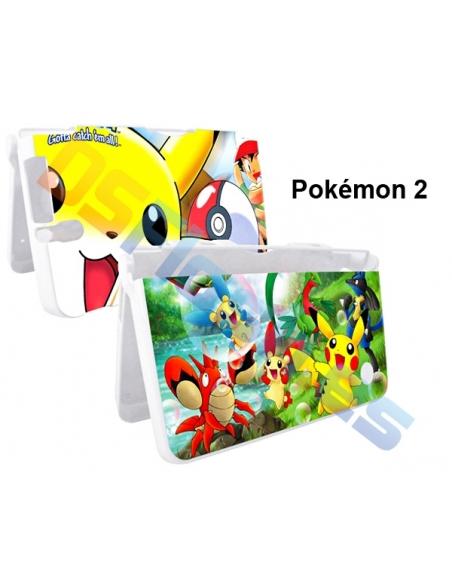 Carcasa Nintendo DSi XL protección con dibujos