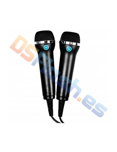 Pack 2 Micrófonos Wii U KAOS
