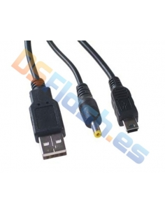 Cable Recarga y Datos USB PSP 1000, 2000 y 3000
