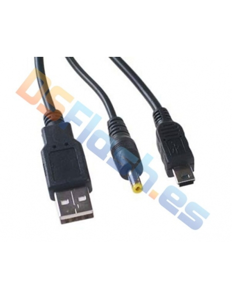 Cable Recarga y Datos USB PSP 1000