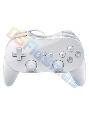 Mando Clásico Pro Compatible Wii en Blanco