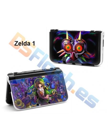 Carcasa Protección con Dibujos New Nintendo 3DS XL