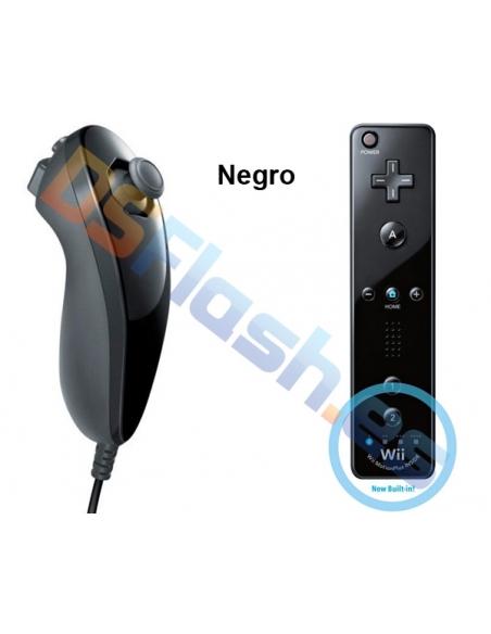 Mando WiiMote Plus + Nunchuk Compatibles Wii