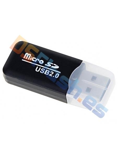 Lector MicroSD USB de Plástico