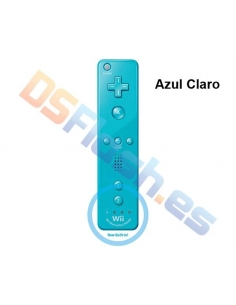 Mando WiiMote Plus Compatible Wii - Color: Azul Claro