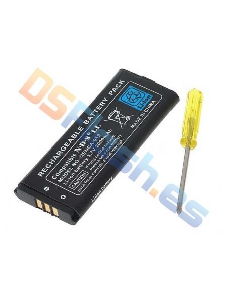Batería Recargable Nintendo DSi XL + Destornillador
