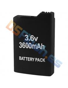Batería Recargable 3600 mAh PSP 1000