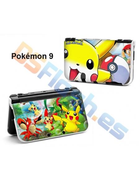 Carcasa protección New Nintendo 3DS XL con dibujos