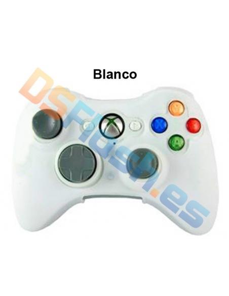 Imagen Funda Xbox 360 de Silicona para Mando blanca