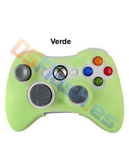 Imagen Funda Xbox 360 de Silicona para Mando verde