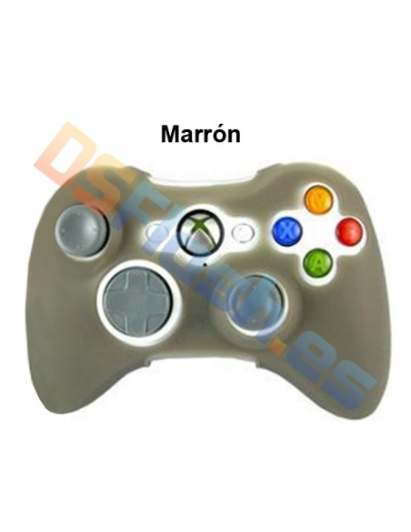 Imagen Funda Xbox 360 de Silicona para Mando marrón