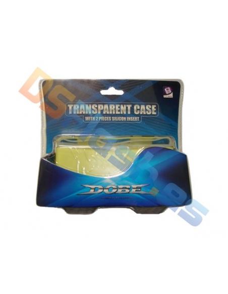 Imagen funda Carcasa Nintendo DS Lite Transparente con Interior Silicona