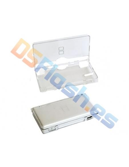 Imagen abierta carcasa protección nintendo DL Lite transparente
