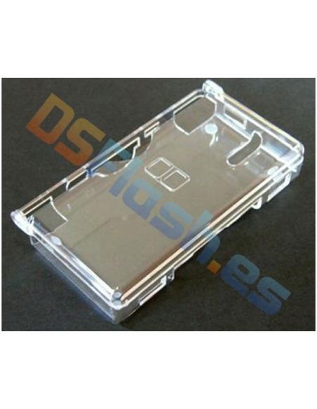 Imagen cerrada carcasa protección Nintendo DS Lite transparente