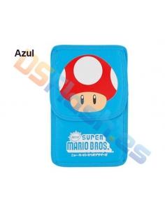Imagen Funda Nintendo DS Lite Super Mario azul