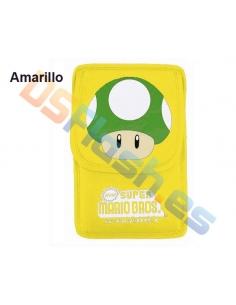 Imagen Funda Nintendo DS Lite Super Mario amarilla