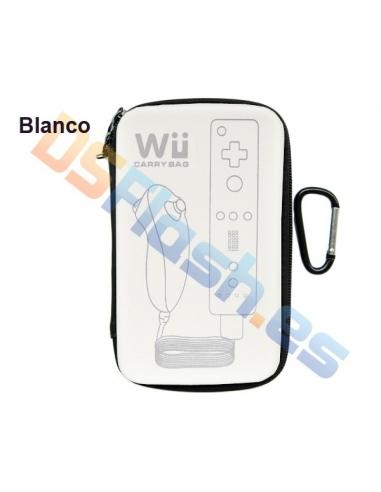 Imagen Funda Transporte WiiMote y Nunchuk Wii blanca