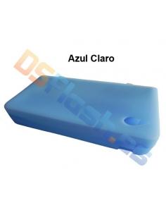 Funda Nintendo DSi XL de Silicona azul claro