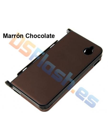 Carcasa Protección de Aluminio DSi XL en marrón