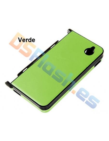 Carcasa Protección de Aluminio DSi XL en verde