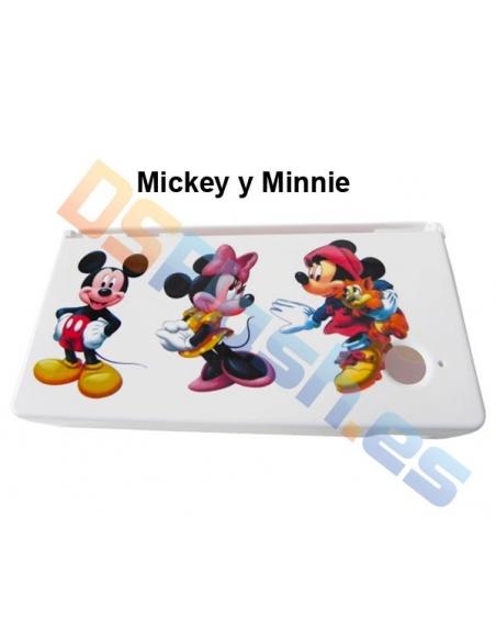 Imagen Carcasa Protección Nintendo DSi con dibujos Mickey Minnie