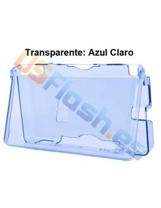 Imagen Carcasa Protección Nintendo DS Lite de Plástico azul claro