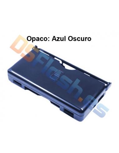 Imagen Carcasa Protección Nintendo DS Lite de Plástico azul oscuro
