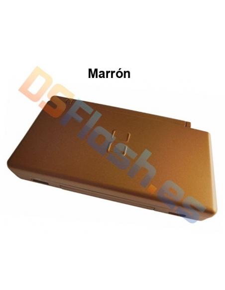 Imagen Carcasa Nintendo DS Lite de Repuesto marrón