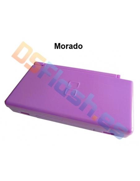 Imagen Carcasa Nintendo DS Lite de Repuesto morada