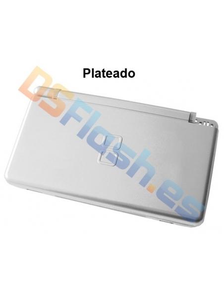 Imagen Carcasa Nintendo DS Lite de Repuesto plateada