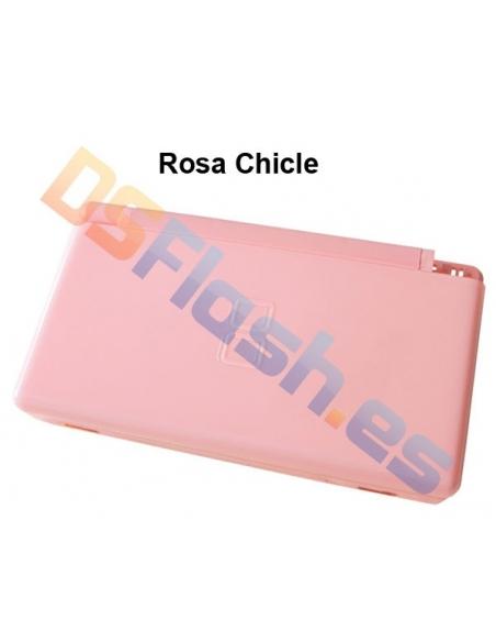 Imagen Carcasa Nintendo DS Lite de Repuesto rosa chicle