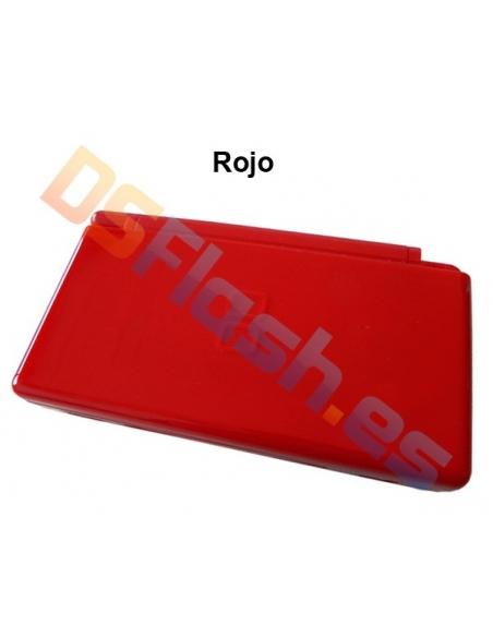 Imagen Carcasa Nintendo DS Lite de Repuesto roja