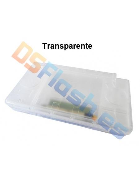 Imagen Carcasa Nintendo DS Lite de Repuesto transparente
